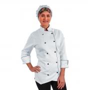 Dólmã Chef de Cozinha Feminino Diana - Wp Connect
