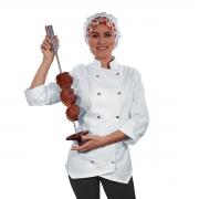 Dólmã Chef de Cozinha Feminino Sophia - Wp Connect