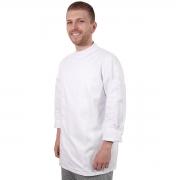 Dólmã Chef Universitário Gastronomia Unissex Branco - Wp Connect