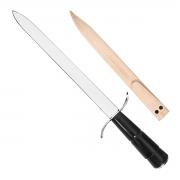 Espada Artesanal Carbono 12 Polegadas Cabo Chifre - Cutelaria Chef