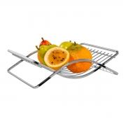 Fruteira de Mesa Cromada Aço Piatina - Wp Connect