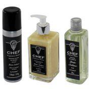 Kit  Aromatizador Chef de Cozinha + Sabonete Líquido + Neutralizador de Odores