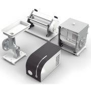 Kit Cilindro Com 4 Funções: laminar, extrusar, moer e misturar - Preto