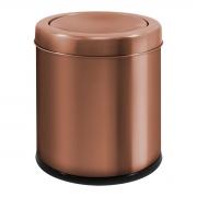 Lixeira Basculante Cobre em Aço Inox 6,3 Litros