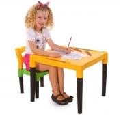 Mesinha Educativa Infantil com Cadeira - Wp Connect
