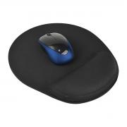 Mouse Pad Ergonômico Confort Antiderrapante Preto - Wp Connect