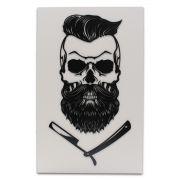 Placa Decorativa Para Barbearia Quadro Barber Shop em MDF