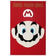 Placa Quadro Decorativo Mario Bros em MDF Quarto