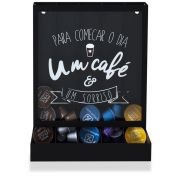 Porta Cápsulas de Mesa Parede Modelo Universal Um Café