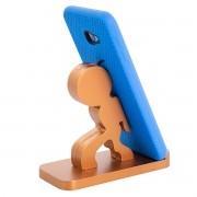 Suporte Porta Celular Telefone de Mesa Universal Tablet em MDF
