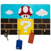Porta Chaves Super Mario Bros Decorativo com Ímãs
