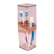 Porta Escova de Dente de Bancada Slim - Wp Connect