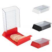 Porta Frios em Plástico Porta Queijo Presunto Para Geladeira