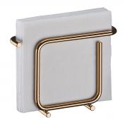 Porta Guardanapos de Mesa Rosé Gold Pequeno - Wp Connect