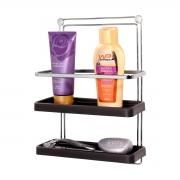 Porta Shampoo Duplo de Parede Fixação Por Parafuso - Wp