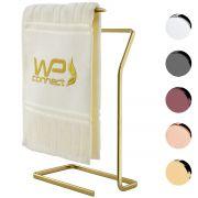 Porta Toalha de Rosto Mãos Para Bancada Banheiro Luxo