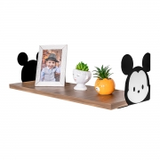 Prateleira Decorativa Mickey Mouse em MDF 20x60cm - Wp Connect