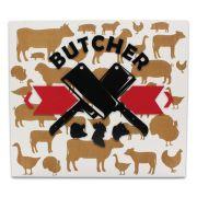 Quadro Decorativo Butcher em MDF Decoração Cozinha Restaurante