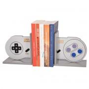 Suporte Aparador de Livros Controle Nintendo Mini 8 Bits Presente Geek