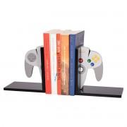 Suporte Aparador de Livros e Jogos Controle Nintendo 64 Presente Geek Vintage