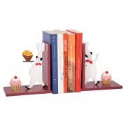 Aparador de Livros Chef Confeiteiro Cupcake Bibliocanto em MDF