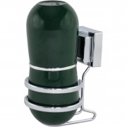 Porta Escova com Suporte Cromado Fixação Ventosa