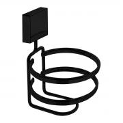 Suporte Para Acessórios de Banheiro Fixação por Parafusos Preto - Wp Connect