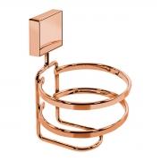 Suporte Para Acessórios de Banheiro Fixação por Parafusos Rosé Gold - Wp Connect