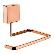 Suporte Para Papel Higiênico Rosé Gold Fixação Por Parafusos - Wp Connect