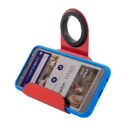 Suporte Porta Celular de Tomada em Aço - Wp Connect