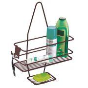 Suporte Porta Shampoo Sabonete Encaixe no Registro Banheiro Luxo