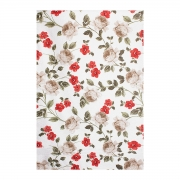 Toalha de Banho Felpuda Prisma Estampada Floral Fiore 140x70 - Wp