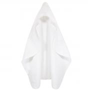 Toalha de Banho Infantil Com Capuz Para Bordar Branco 90 x 70cm - Wp Connect
