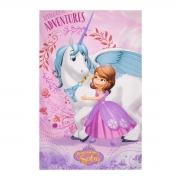 Toalha de Banho Infantil Felpuda Princesa Sofia 115x70 - Wp