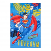 Toalha de Banho Infantil Felpuda Prisma Superman 115x70 - Wp
