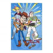 Toalha de Banho Infantil Velour Prisma Toy Story 130x70 - Wp
