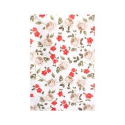 Toalha de Rosto Felpuda Prisma Estampada Floral Fiore 50x80cm