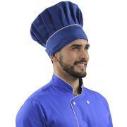 Touca Mestre Cuca Chapéu Chef Cozinheiro Restaurante - Azul Elegance