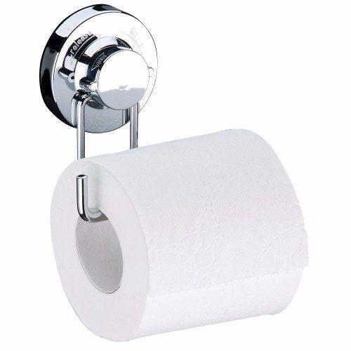 Kit Para Banheiro 6 Peças Fixação Por Ventosa Porta Escova
