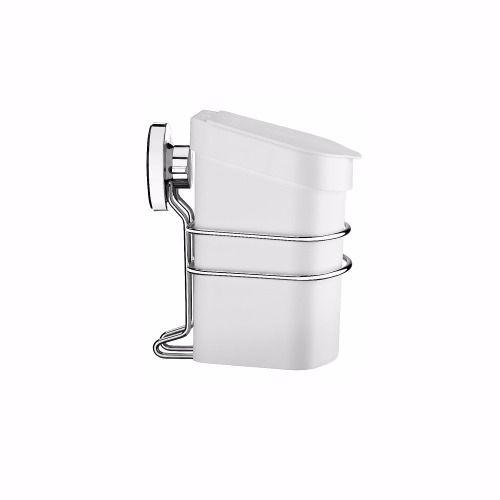Lixeira 2,5 Litros+toalheiro Argola+suporte Sabonete Liguido