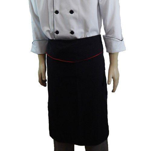 Avental Chef de Cozinha Tradicional Tipo Saia Unissex