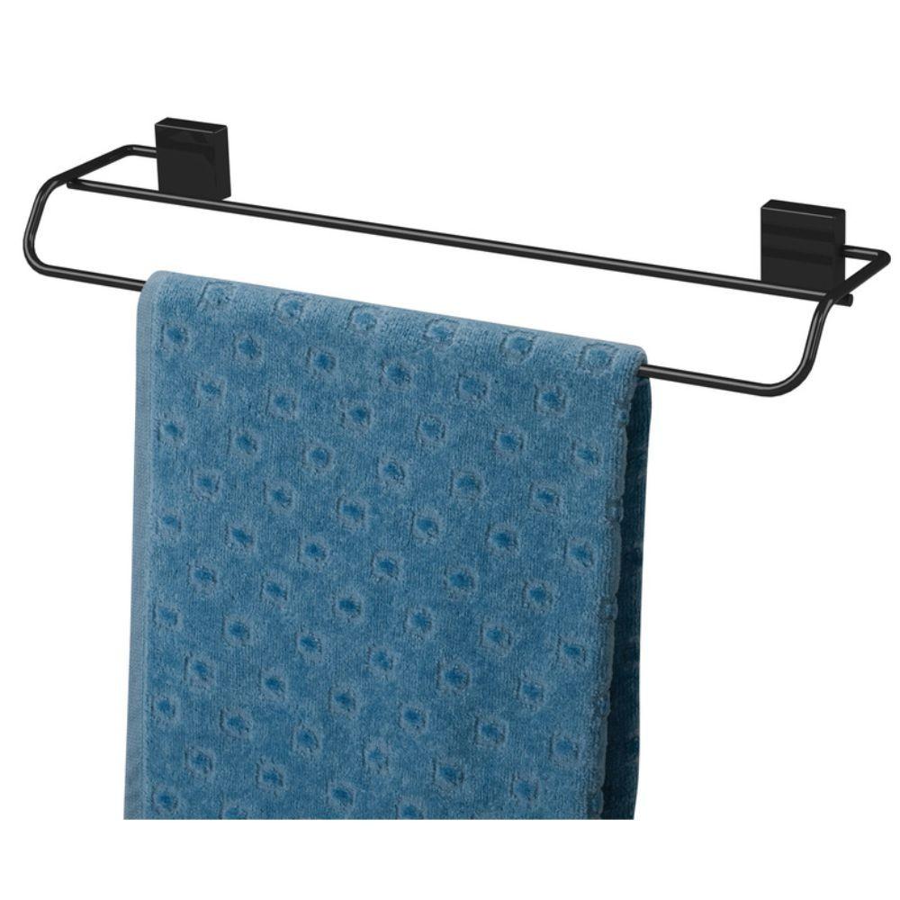 Acessórios Banheiro Fixação Parafuso 4 Peças Preto