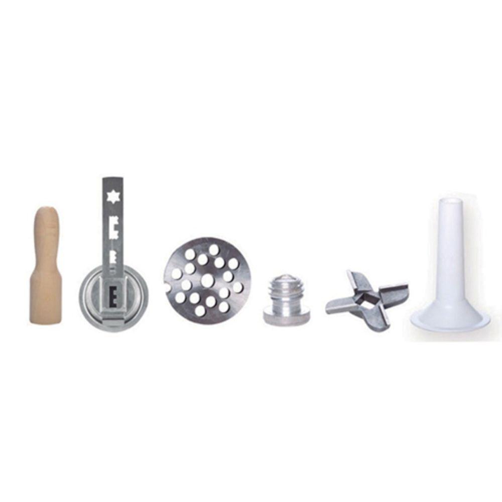 Kit Profissional 4 em 1: Extrusor, Cortador de Talharim, Amassadeira E Misturadeira - Bivolt