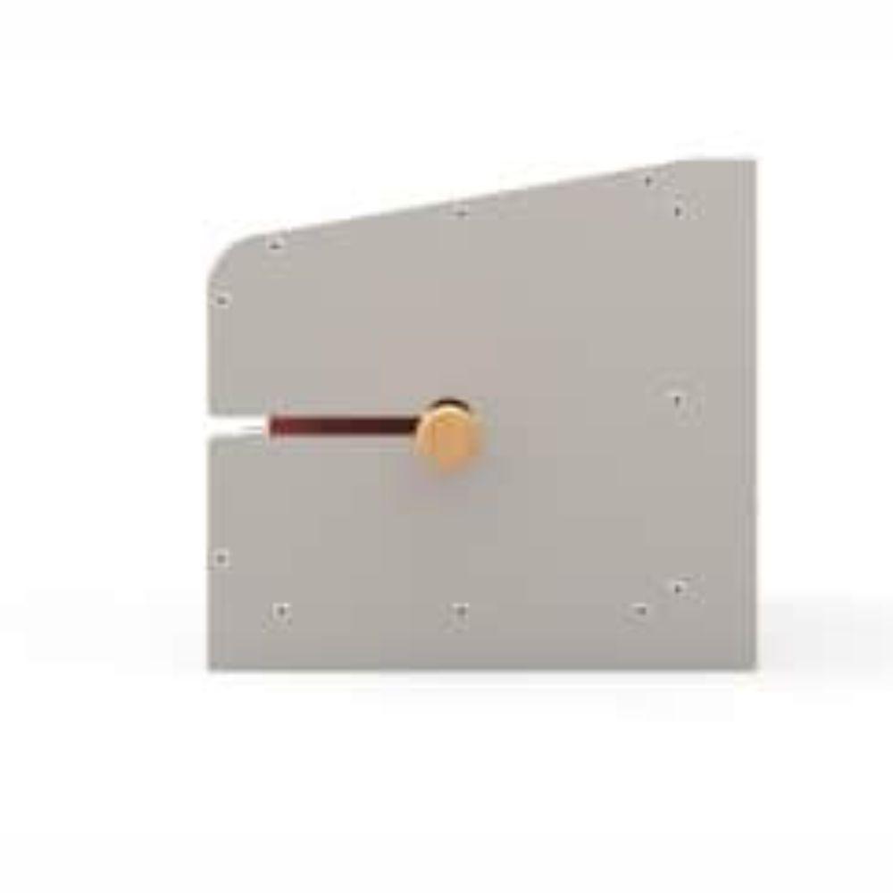 Mini Churrasqueira Elétrica com 1 Espeto - Vermelha