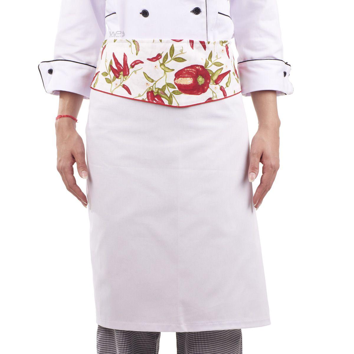 784b7d337 Avental Chef de Cozinha Feminino Pimentinha Confeiteira - WP Connect