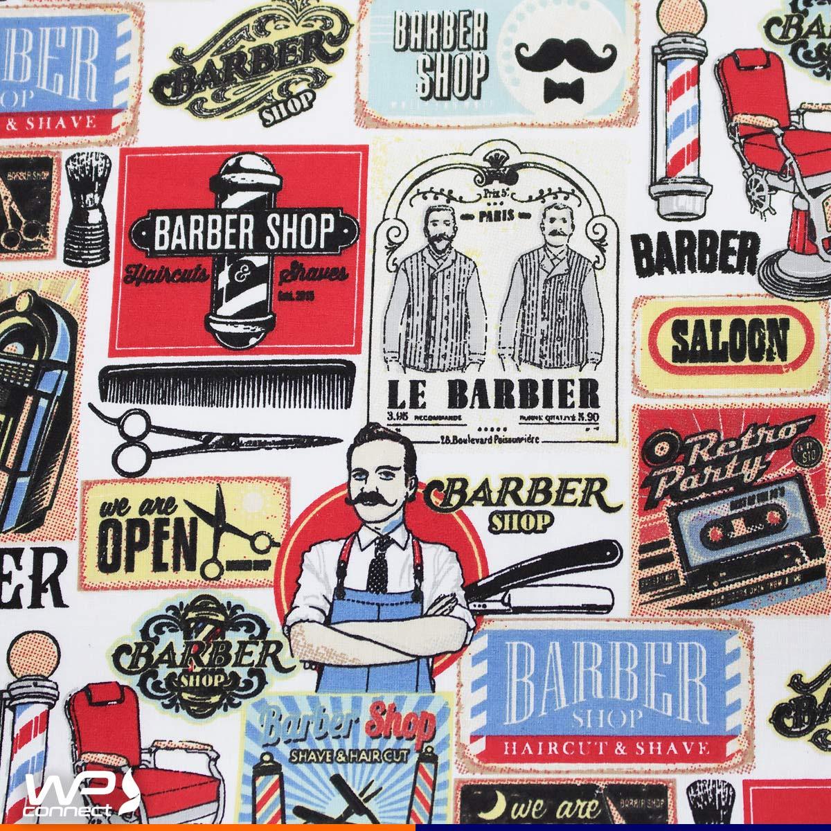 Bandana para Barbeiro Profissional Barber Shop Ajustável