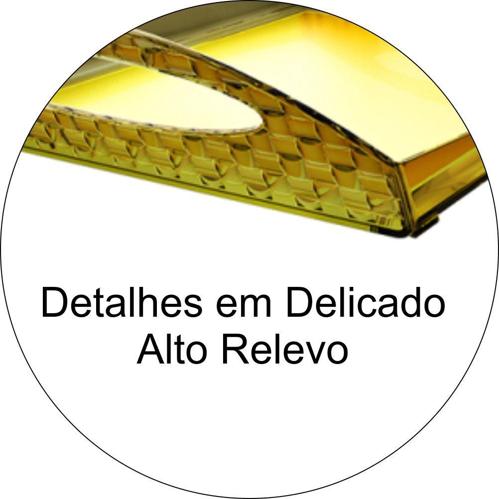 Bandeja Para Servir Refeições / Café Da Manhã - Amarelo Translúcido