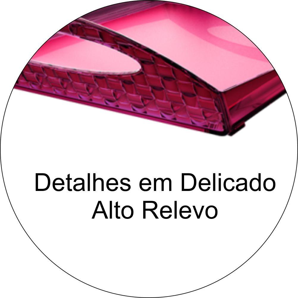 Bandeja Plástica Para Café Da Manhã, Servir Alimentos - Rosa