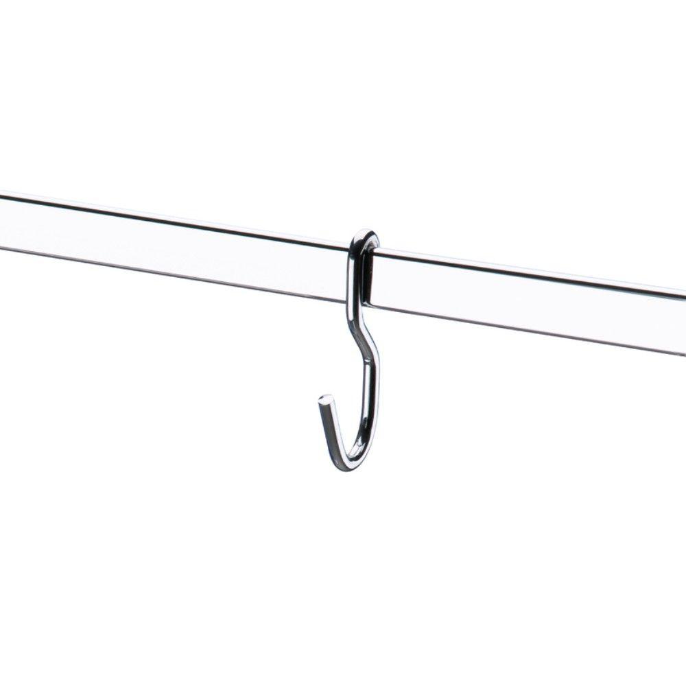 Barra Para Cozinha 60cm Com 6 Ganchos Porta Utensílios