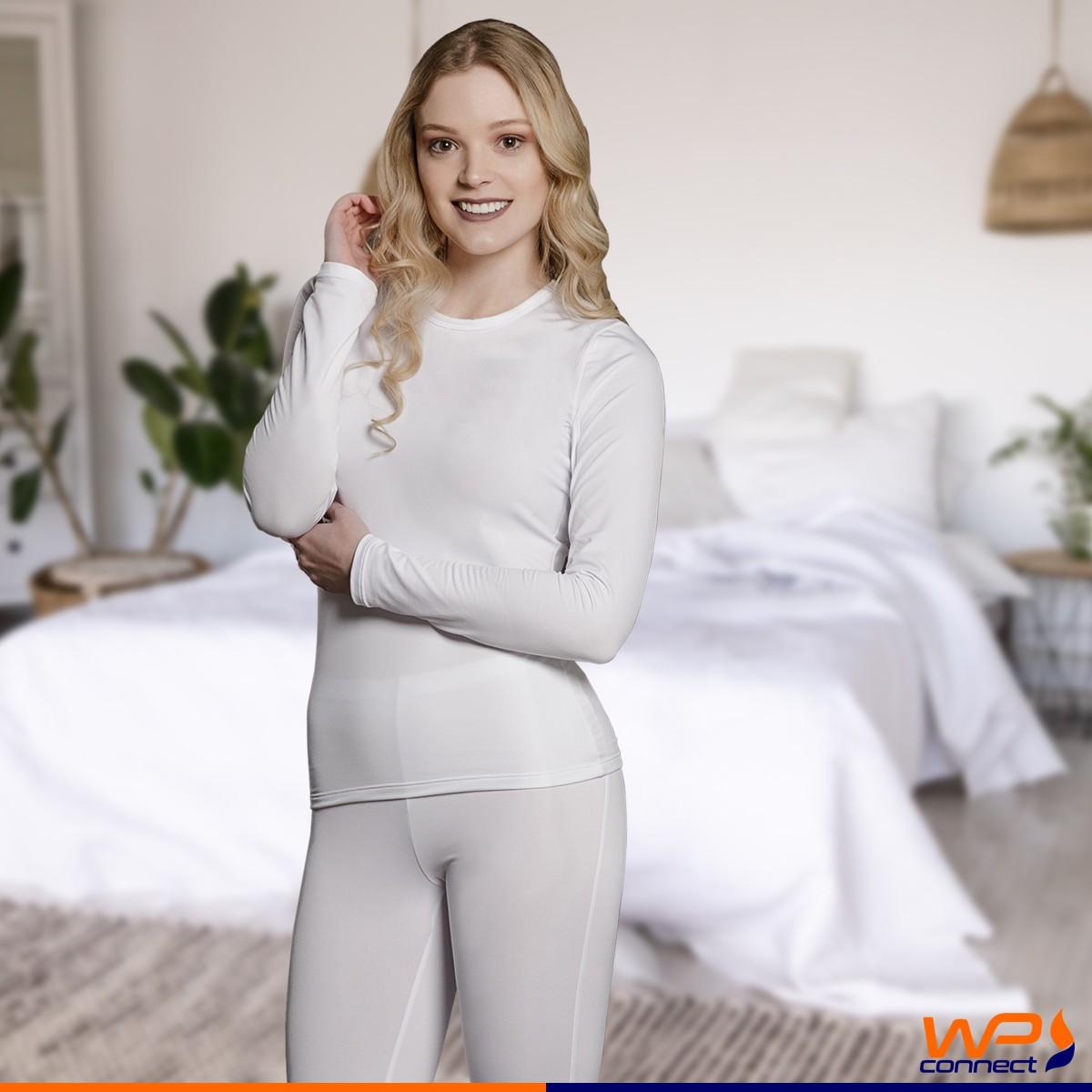 Blusa Térmica Segunda Pele Feminina Thermo Fine Proteção UV